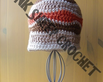 Baby Waves Winter Beanie *** READY TO POST *** Fits 3-6 month