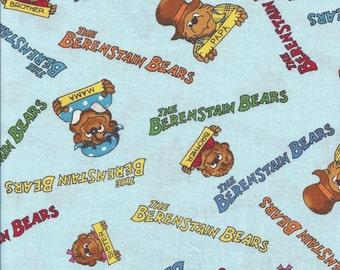 Berestain Bears Country, Words on lt. Blue