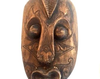 Vintage Wood Mask