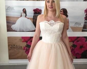 Blush wedding dress, pink wedding dress, blush bridal dress, blush wedding dresses, puder wedding dress, blush tulle wedding dress