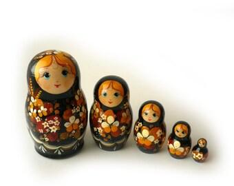 Autumn Matreshka 5-piece