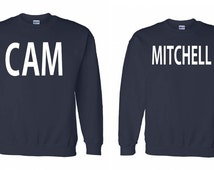 Cam & Mitchell Couple sweater-hoddie, friends, modernfamily, gay, sweater, t-shirt, funny, print, statement, netflix