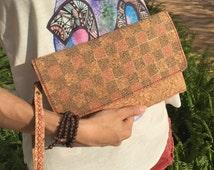 Cork Travel Case, Wristlet Bag, Wassport Cover, Card Holder, Boarding Pass Holder