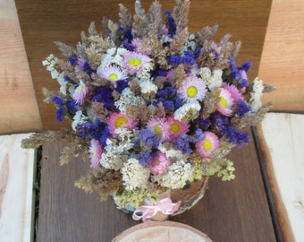 Dried flowers,rustic wedding,wild flowers bouquet,dried flower wedding bouquet,floral arrangement,bridal bouquet,dried flower centerpiece