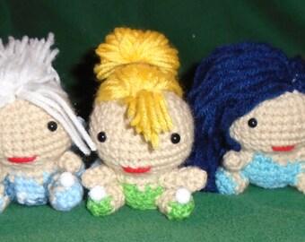 Crochet Tinker Bell Fairy Amigurumi