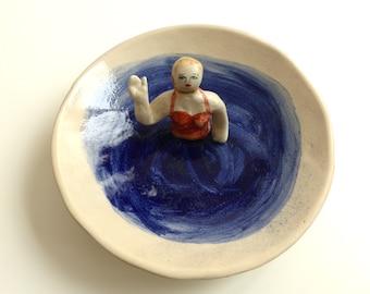 Hi - ceramic swimmers