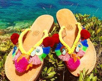 Boho sandal flip flop