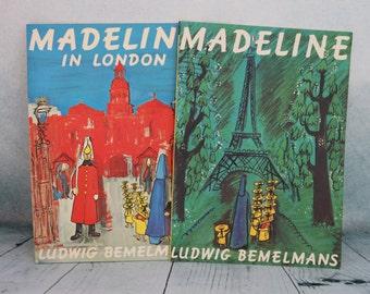2 Vintage Madeline PB books 1996