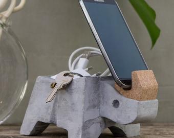 MISTER RHINOOOOS - Tidy bowl and designer smartphone holder
