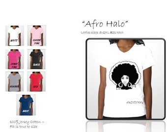 the Prototype - Afro Halo