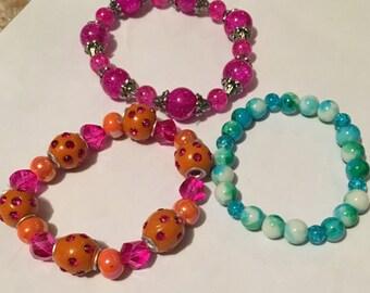 A Myriad of Stretch Bracelets