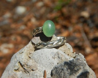 Ring Aventurine & Silver 925