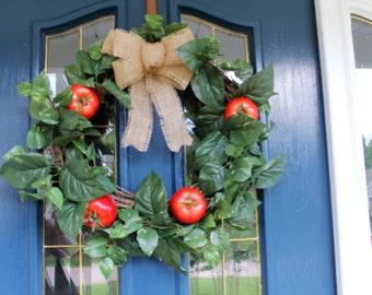 Tomato Wreath