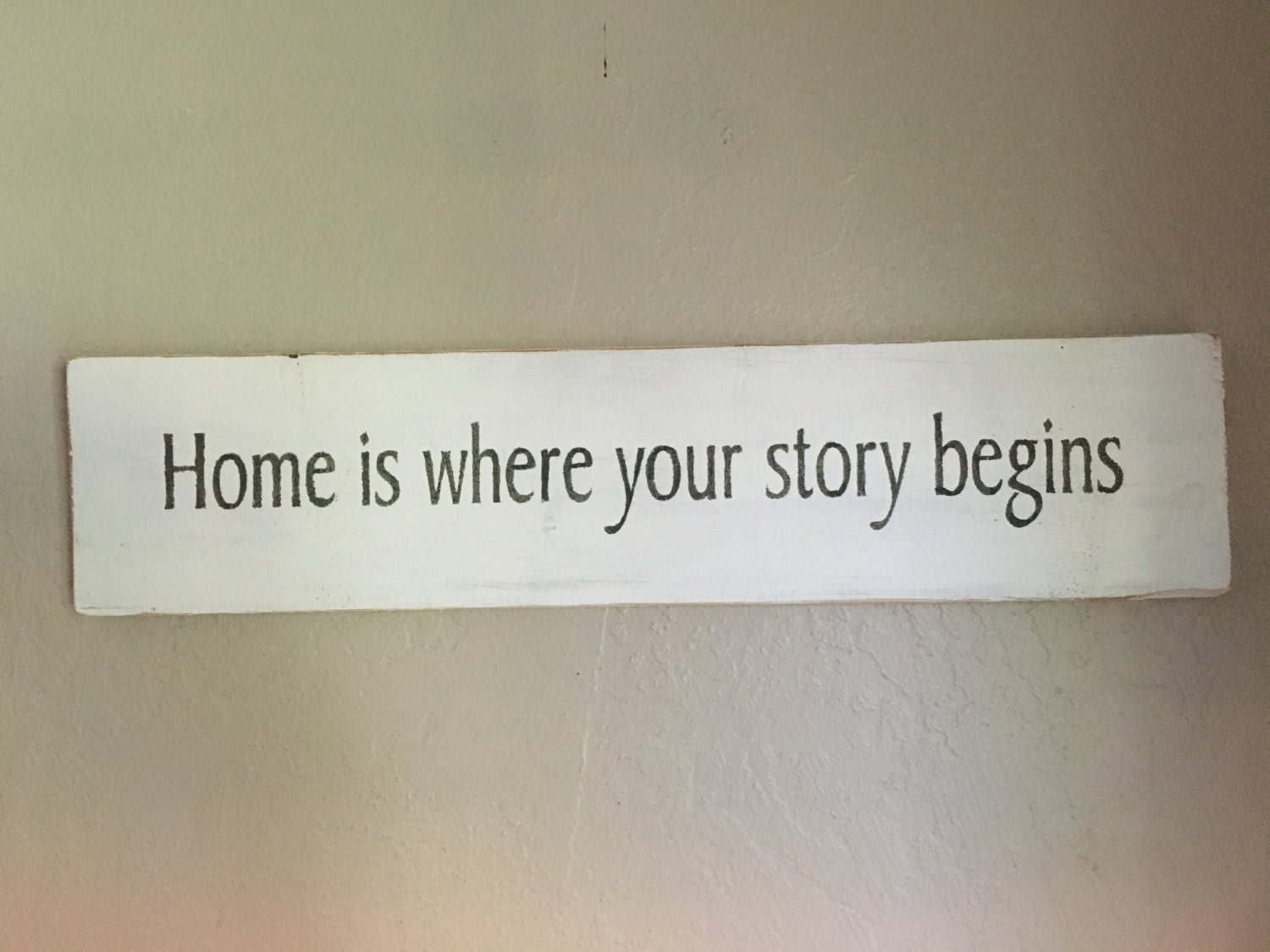 Home is where your story begins SIGN by RusticSignsEtc on Etsy