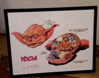 Star Wars Signed Original Art! (1996)