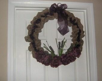 Wreath:  Soft Elegance