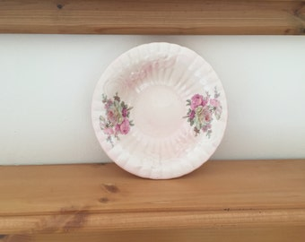 Vintage Staffordshire Pottery Bowl from 1970s