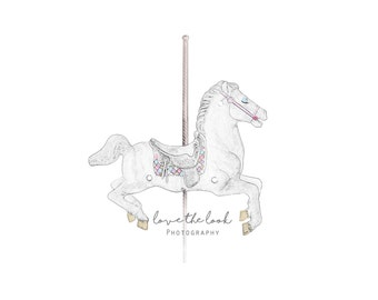 Custom Carousel Logo Graphic