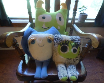 Create A SiLLy Stuffed MonsteR!