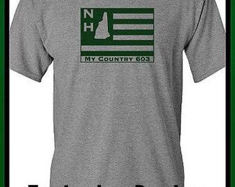 New Hampshire T-Shirt 603
