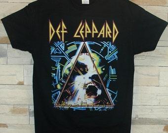 Def Leppard Hysteria, black shirt
