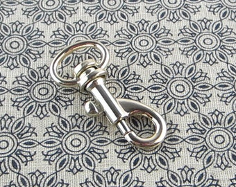 8 pieces Gold Swivel Snap Hook 1/2 inch (EYE size)