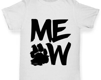 Girl's Meow T-Shirt