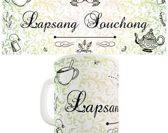 Decorative Lapsang Souchong Tea Ceramic Funny Mug