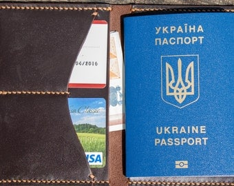 Passport cover, travel wallet