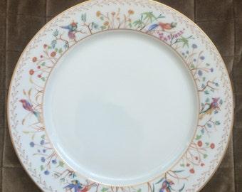 Audubon dinner plate