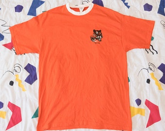 Vintage Boy Scouts Tiger Club Shirt 1980s XL