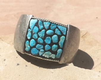 Rough Cut Turquoise Mosaic