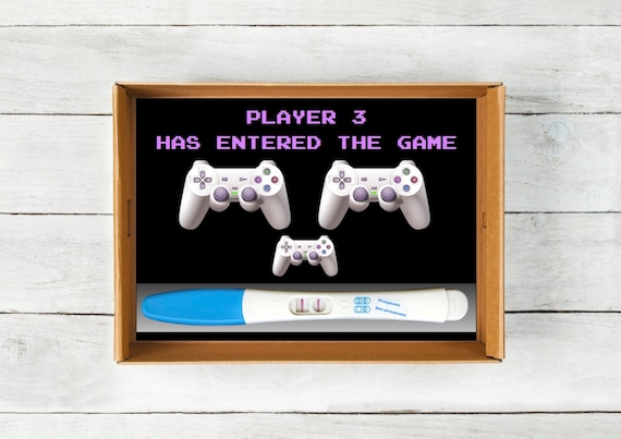 Playstation Baby Announcement Instant Download Video Game – Baby Announcement Videos