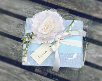 Bridesmaid Gift Presentation Boxes & Gifts- Something Blue Design
