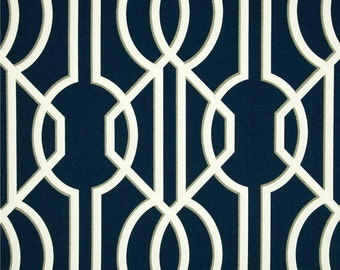 Deco Navy Fabric