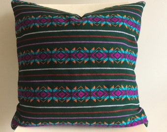 Mexican Pillow Cover Decorative 20x20