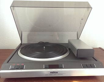Revox B 791 Direct Drive Turntable USED AS IS