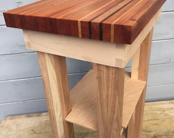 Small Butcher Block Table