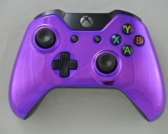 Microsoft Xbox One Wireless Controller Custom Chrome Purple