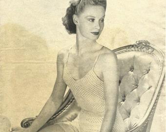 1940's Ladies Underwear Set