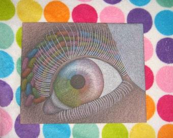 Eye Candy 10.5x13 (Original & Unmounted)