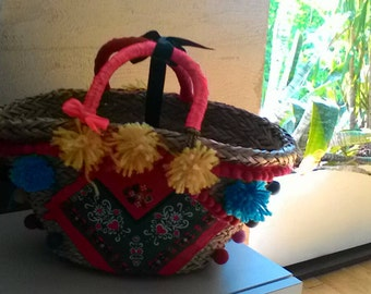 Straw bag Sabzwari