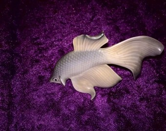 Royal copenhagen goldfish figurine