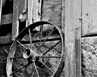 Old Wheel Photo