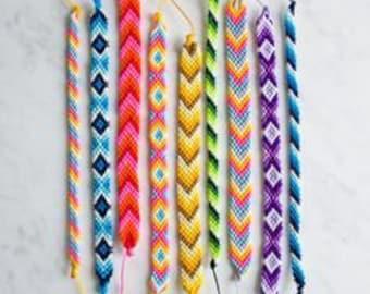 Custom made Friendship Bracelets