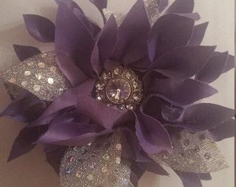 Lilac Handmade Rosette