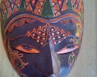 hand carve mask