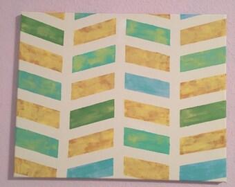 Chevron Decorative Canvas