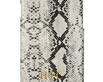 Faux Leather Snakeskin Iphone Case