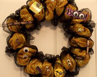 Halloween EEK Wreath